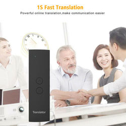 Smart Voice Translator Portable Two-Way Real Time Multi-Language Translation T6 NEW