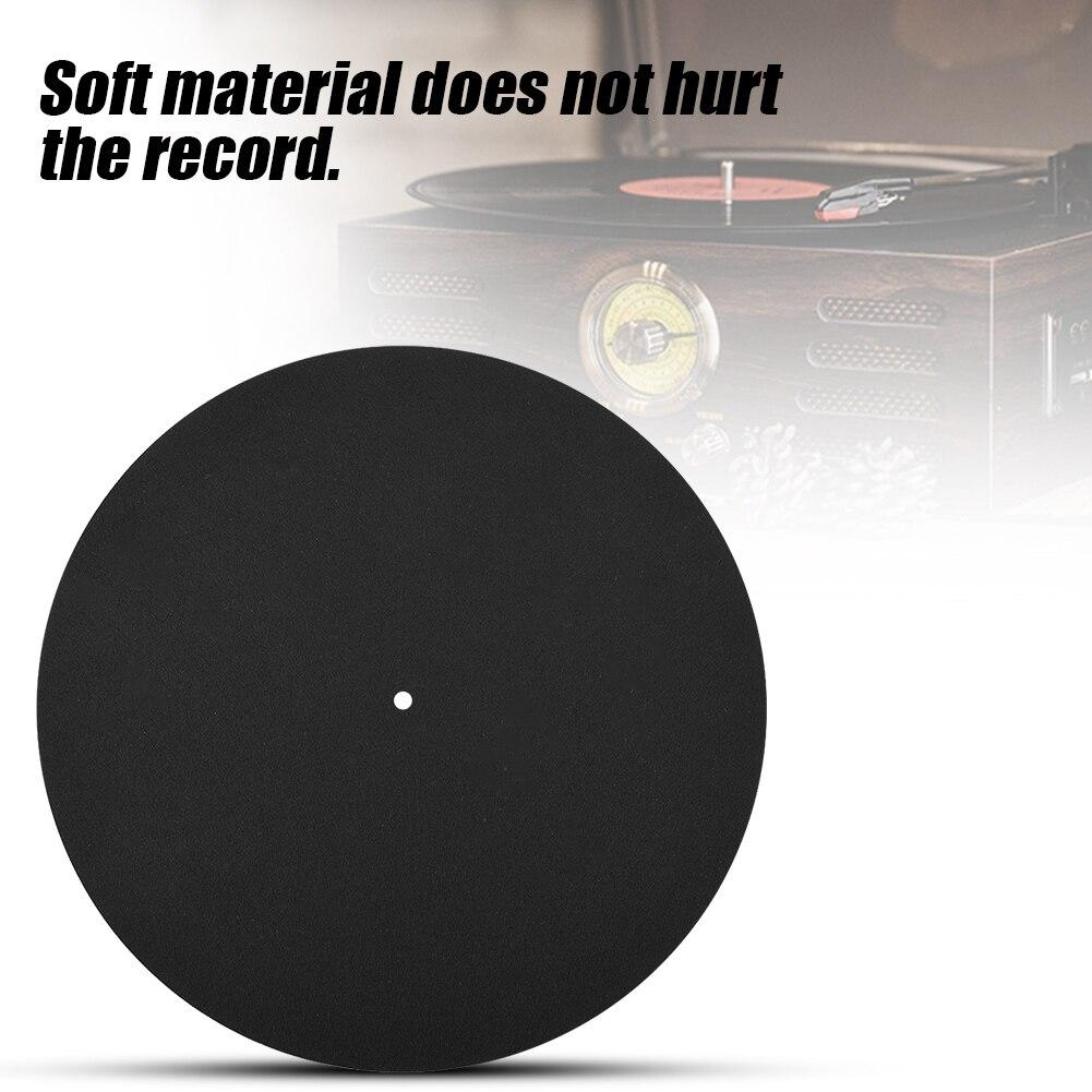 1 Pcs Ultra-dünne Anti-statische Vinyl Plattenspieler Rekord Pad Antistatischen Flache Weichen Matte Slipmat Matte Pad Rekord Slipmat Matte Pad