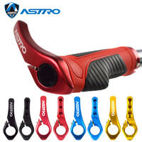 Astro Bicycle Handlebar Grip Bike Handle Bar end Cycling Durable Anti slip Rubber Mountain Bicycle Accessories Bike Parts 1 pair