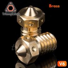 Trianglelab высокое качество V6 насадка для 3D принтеров hotend 4 шт./лот 3D принтер Насадка для E3D hotend titan экструдер prusa i3 mk3