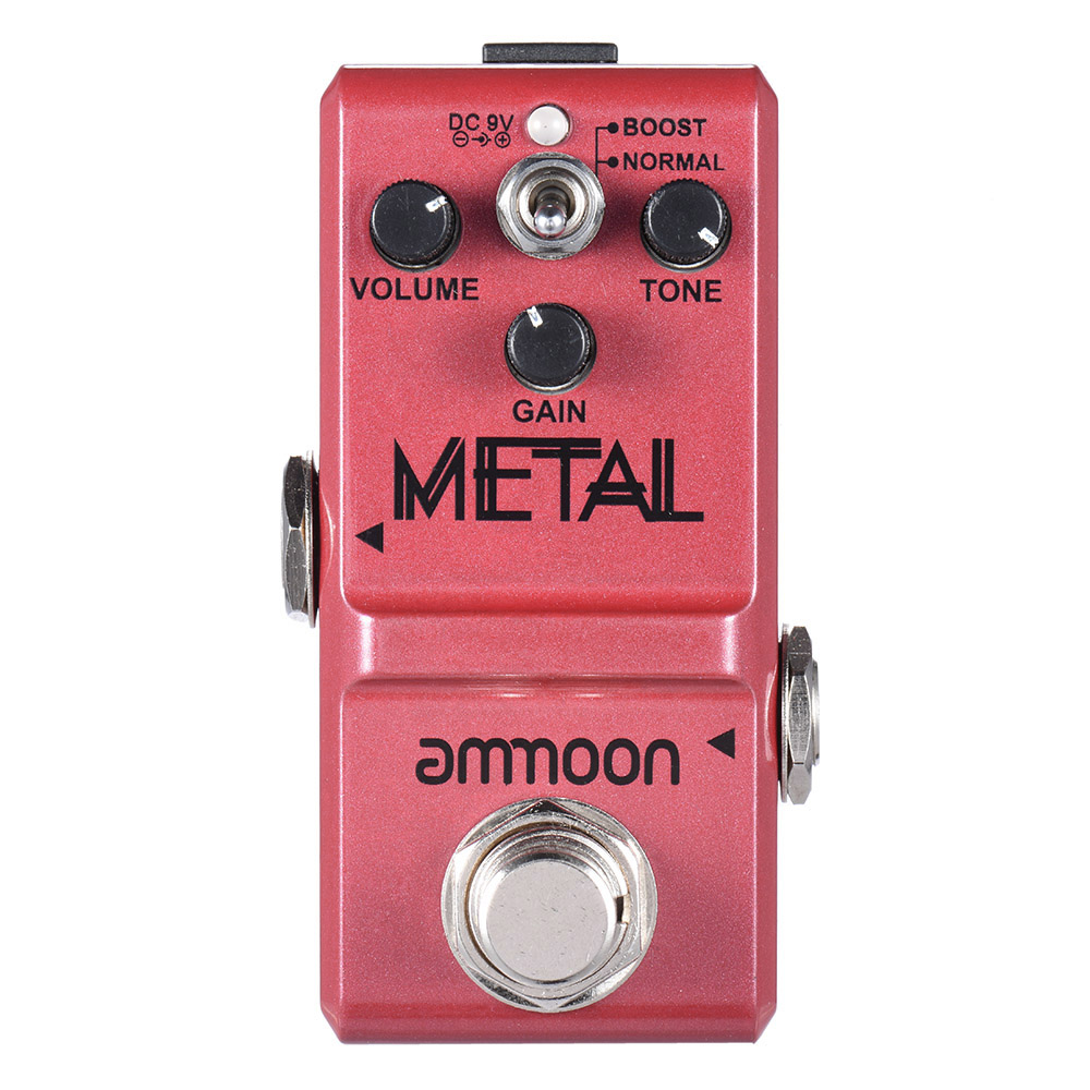 Image 3 - ammoon Series Guitar Effect Pedal Distortion/ Delay/ Chorus Effects Guitar Pedal  True Bypass Guitar AccessoriesGuitar Parts & Accessories   -