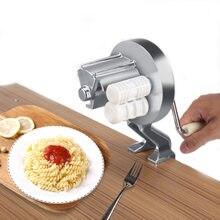 Liga de alumínio macarrão que faz a máquina manual massas macarronete imprensa fabricante mão operado espaguete macarrão cortador cabide