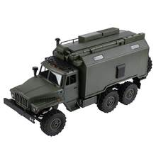 WPL B-36 Electric Remote Control Military Truck 1/16 Scale RC Trunk Model Kit Version Children RC Truck(China)