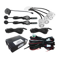 Upgrade Car Blind Spot Monitoring BSM Radar Detection System Ultrasonic Sensor Assistant with Reversing assist function