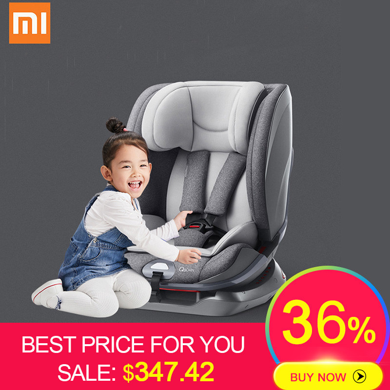 Xiaomi Ecological Chain EU ECE R44/04 ISOFIX LATCH Standard Baby Car Seat Safety Seat Heightening Return & Change for 9M-12Y