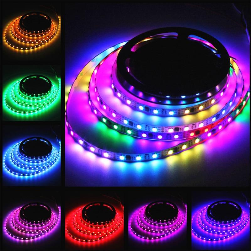 72W 5050 RGB 4M 240LEDS WS2812B Waterproof IP65 LED Strip Light LED Individual Addressable DC 5V