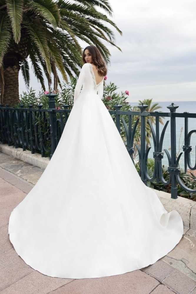 ... With Button Reflective Dress Sequin. RELATED PRODUCTS. Vivian s Bridal  2018 Vintage Soft Satin Pockets Wedding Dress Sexy Front Back Deep-v  Illusion 5cfc20f0660e