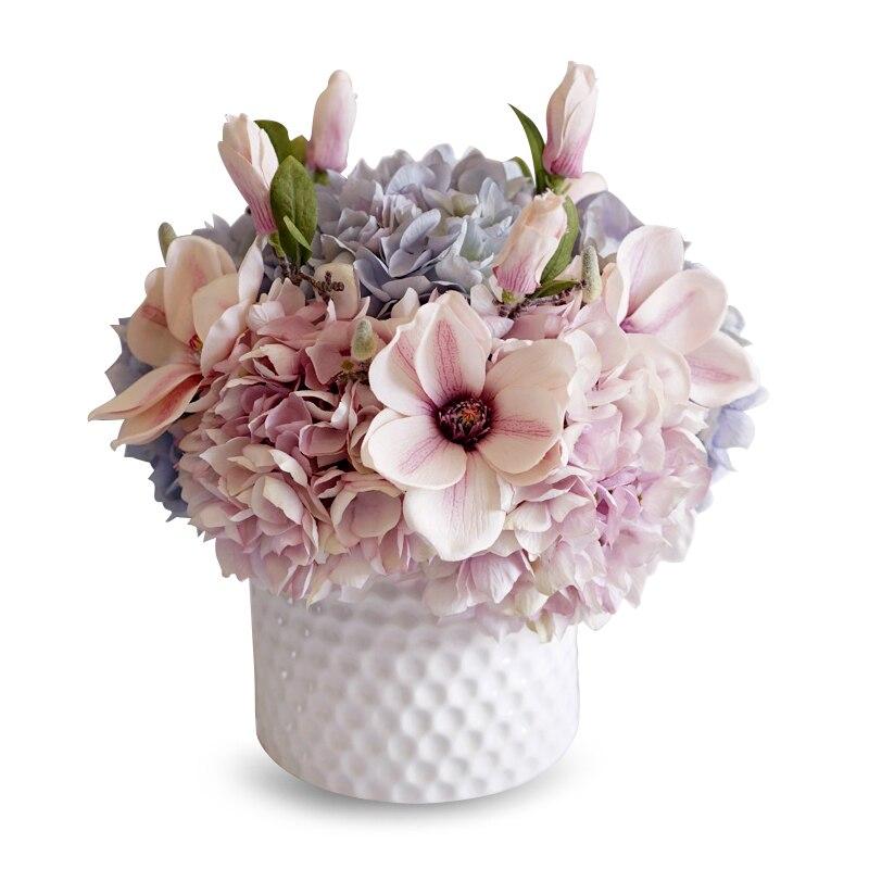Pour Blumenvasen Jarron Dekoratif Vazo accessoires de décoration de maison moderne Teraryum Jarrones Decorativos Moderno Vase à fleurs