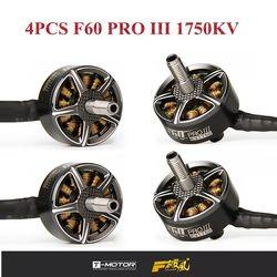 1/4 PCS T-motor F60 PRO III 1750KV 5-6 S CW Motore Brushless Filo per modelli RC Drone FPV Da Corsa Multicopter Ricambio Parte FAI DA TE Acc