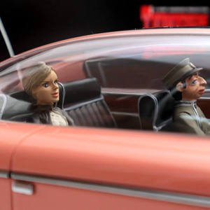 Image 5 - 1/18 amieためrol〜ロイ · 女性 · のthunderbirds FAB1 fab 1樹脂おもちゃ車のモデルの装飾