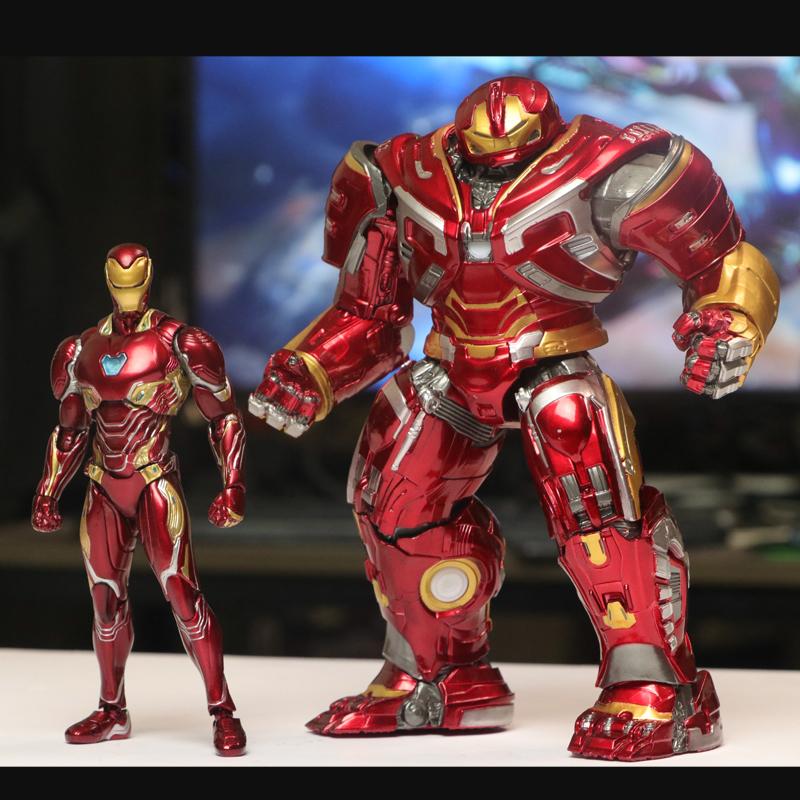 Hulkbuster2.0 iron man MK46 MK47 MK44 toys Model doll The Avengers4  1/6 light Character