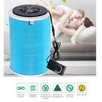 Mini Portable Air Purifier For Home Office Adjustable Speed Motor Remove Formaldehyde Smoke Dust Purification Odor PM2.5