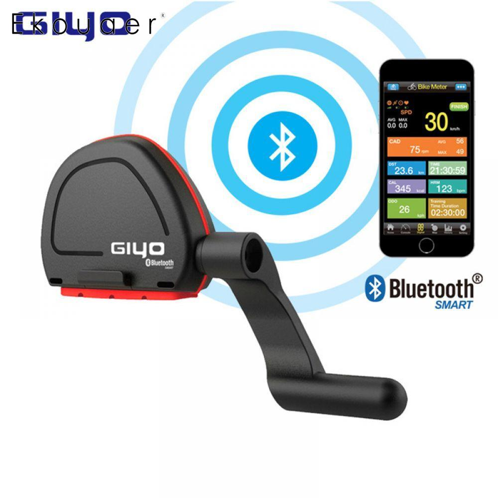 GIYO Vélo Ordinateur Sans Fil Gps Compteur De Vitesse Cadence Capteur Fitness Bluetooth 4.0/IOS/Android Cyclo Ordinateur De Vélo