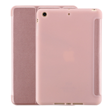 Case For iPad mini 1 2 3 4 Soft Back Cover TPU Leather PU Flip  Smart