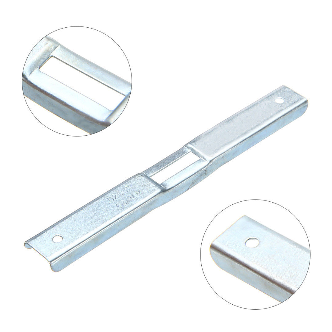 Depth Gauge File Kit For Chain Saw Removal Tool Attachment Sharpening Gadget Surface Treatment White Zinc Plated