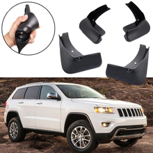 SET For Jeep Grand Cherokee 11~17 Front+Rear Mudguards Splash Guard Mud Flaps все цены