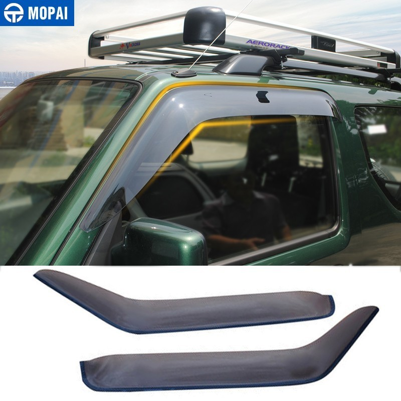 MOPAI Awnings Shelters Cover for Suzuki Jimny 2007 2017 Resin Car Weather Shields Windshield Window Visors Car Accessories-in Awnings & Shelters from Automobiles & Motorcycles