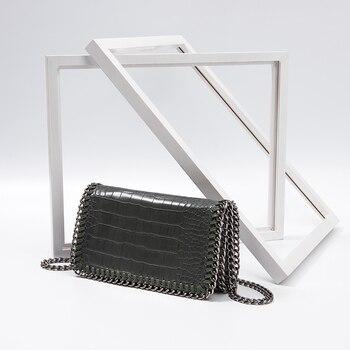 50f75e50f45d Сумочка женская сумка Роскошные сумки из крокодиловой кожи женские сумки  дизайнер высококачественные из искусственной кожи сумка женская .