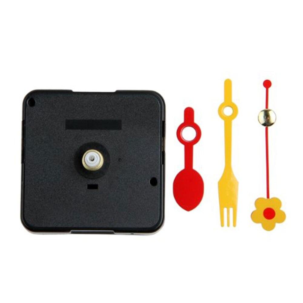 Wall Clock Silent Quartz Movement DIY Mechanism Battery Operated Motor Fittings Tool Kit