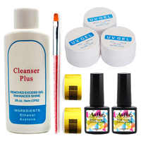 UV Gel for Nail Extension Set Gel for Nail Extensions UV Gel Builder Nail Art Tips Gels UV Construtor Polish Manicure TZ1001