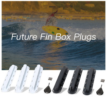 3 Pack Future Tri Fins Box Plugs Fin Base SUP Screw Surf Set Extra Key Screws surfboard Kayak Accessories