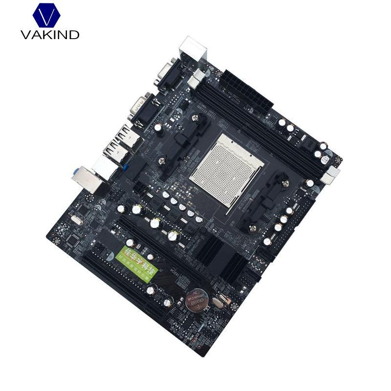 VAKIND Pour Nvidia Bureau C68 C61 Ordinateur Carte Mère Soutien AM2 AM3 CPU DDR2 + DDR3 PC Carte Mère