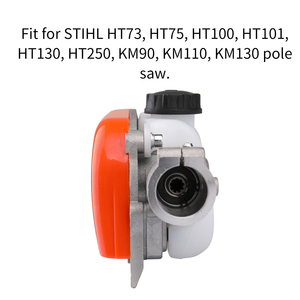 Image 5 - Ht km 73 acessórios de cortador de grama 130 series pole saw trimmer conector pólo poda serra acessórios ferramenta para trabalhar madeira