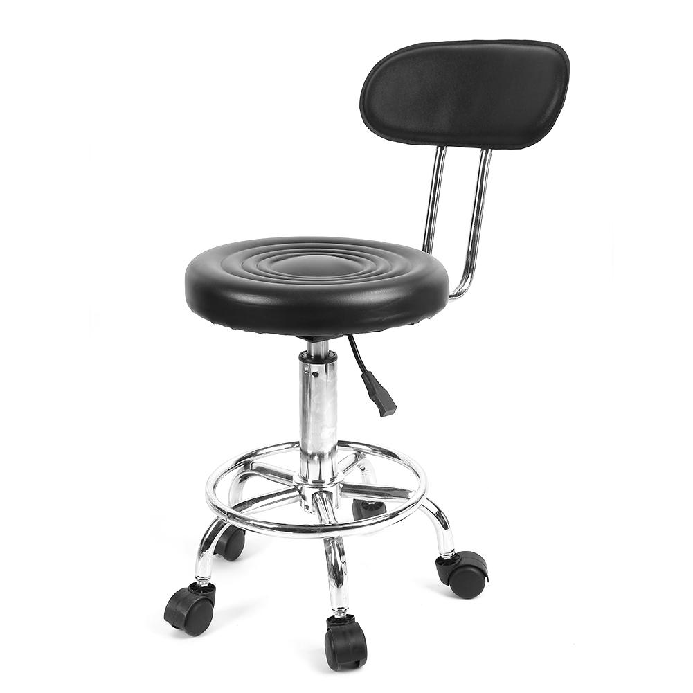 Image 5 - Barber Chair Adjustable Salon Hairdressing Styling Chair Barber Massage Studio Tool стул-in Barber Chairs from Furniture