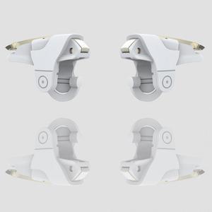 Image 5 - 1Pair Del Telefono Mobile Gaming Controller Trigger Shooter Pulsante di Fuoco Maniglia Per PUBG/Regole Di Sopravvivenza #1102