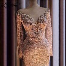 Мусульманское вечернее платье, украшенное кристаллами из бисера, исламский Дубай, саудовская Арабская, Длинное Элегантное вечернее платье, длинное платье для выпускного вечера, кутюр