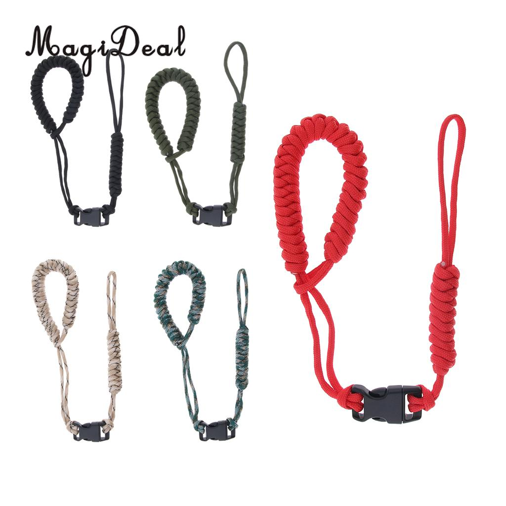 Strong Camera Adjustable Wrist Lanyard Strap Grip Weave Paracord Emergency