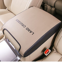Leather Car Armrest Case Cover for Toyota Land Cruiser 200 LC200 2008 2009 2010 2011 2012 2013 2014 2015 2016 2017 2018
