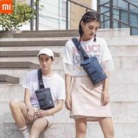 Xiaomi 90 Chic Leisure Chest Bag Fashion Backpack Men Women Mini Shoulder Type Pack Unisex Rucksack Crossbody Bucket bag 201835