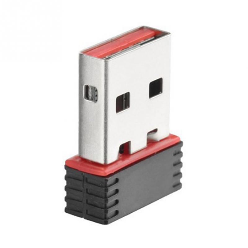 Mini adaptador Wifi inalámbrico USB Nano receptor de red tarjeta LAN de 150Mbps tarjeta de red inalámbrica USB 2,0 #17