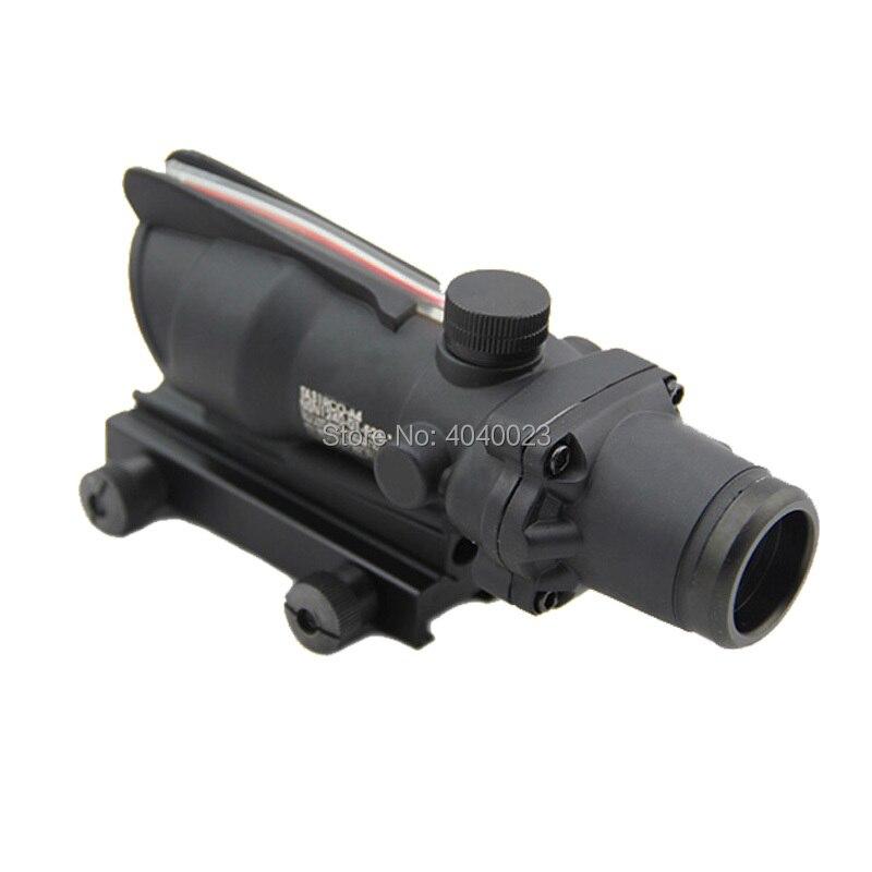 rifle de caca escopo acog 4x32 fiber 04