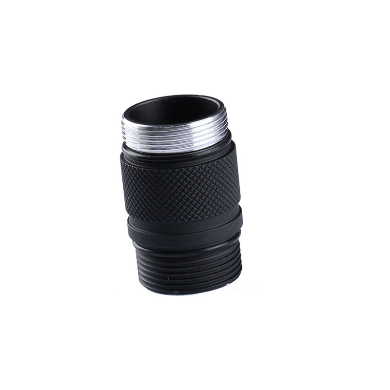 Aluminum Alloy Convoy S9 18350/16340 Battery Extension Body Tube Exclusive for Convoy S9 Flashlight Lighting Accessories