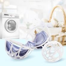 Двойной Сферический лифчик, сумка для стирки бюстгальтера, защитная корзина для белья, женское нижнее белье, стиральная машина, Шариковая форма, сумки для стирки одежды