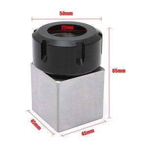 Image 2 - ER 32 Square Collet Block Chuck Holder 3900 5124 for CNC Lathe Engraving Machine