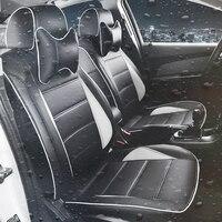 Протектор Coche Funda Подушка автомобиля Стайлинг Cubre asitos Para Automovil автокресла Чехлы для Volkswagen Santana