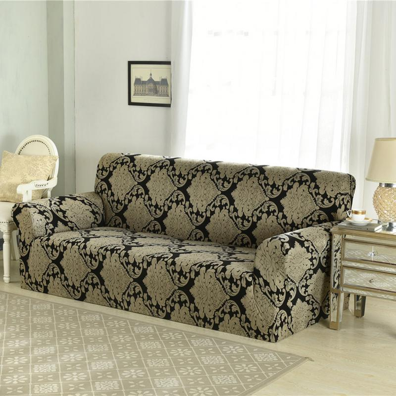 Elastic Sofa Chair Covers Leather Non Slip Fabric