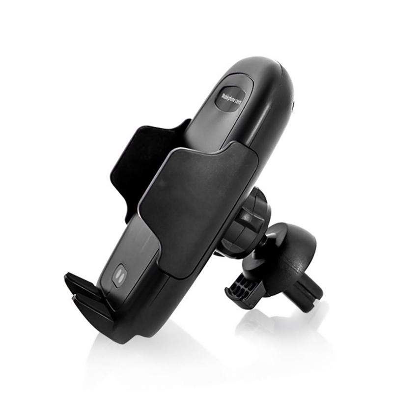 General Car Phone Stand Infrared Induction Air Outlet Bracket Wireless Charging Cellphone Mount 360 Degree Rotation Practical