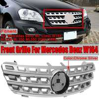 High Quality W164 Car Front Bumper Mesh Grill Grille For Mercedes For Benz ML Class W164 ML320 ML350 ML550 2005 2008