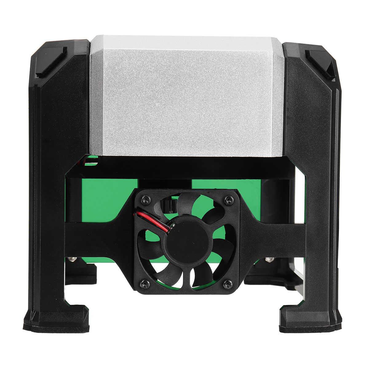 3000 MW Kecepatan Tinggi Laser Engraving Mesin USB DIY Grafir Laser Printer Otomatis Kerajinan Kayu Alat untuk Menang/Mac sistem OS
