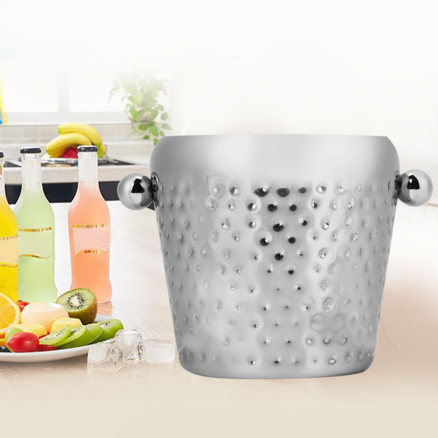 Stainless Steel Ice Bucket for Wine and Other Alcohol