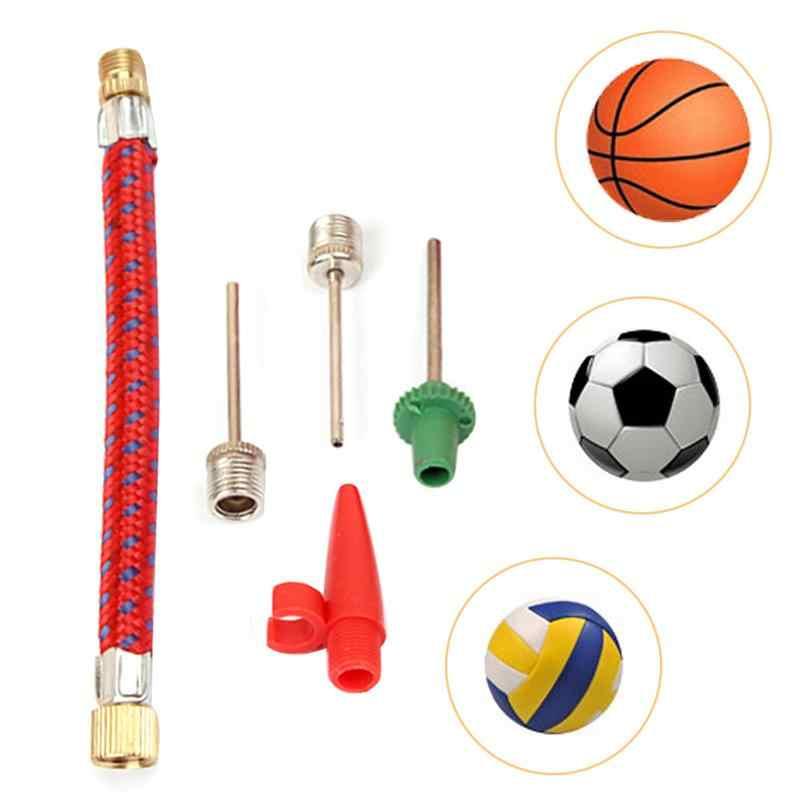 Sports Inflating Needle Pin Nozzle Footballs Basketball Soccers Ball air Pump.UK