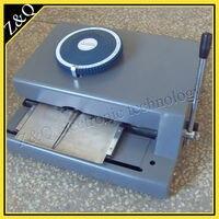 수동 명판 금속 프레스 Machine-41D 작업 조각 금속판 120*100mm