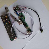 AV LCD LED TV HDMI USB VGA AUDIO card Controller driver Board display For 14.0 B140XTN02.5 1366X768 monitor cable