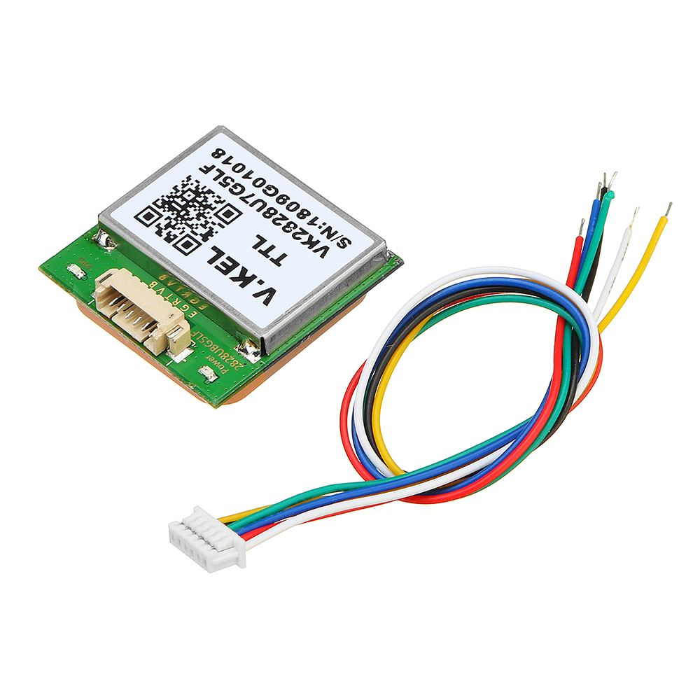 GPS Module With Antenna For VK2828U7G5LF  TTL Level 1-10Hz With Flash Flight Control ModelGPS Module With Antenna For VK2828U7G5LF  TTL Level 1-10Hz With Flash Flight Control Model