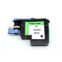 YOTAT 1pcs Black for HP 81 printhead remanufactured C4950A for HP81 print head for HP Designjet 5000 5000ps 5500 5500ps