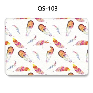 Image 3 - For Notebook MacBook Laptop New Case Sleeve For MacBook Air Pro Retina 11 12 13.3 15.4 Inch With Screen Protector Keyboard Cove